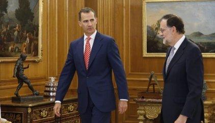 Rajoy accepta l'encàrrec del Rei d'intentar aconseguir suports per a la investidura