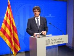 Puigdemont convoca una segona reunió per defensar la llei d'emergència habitacional (EUROPA PRESS)