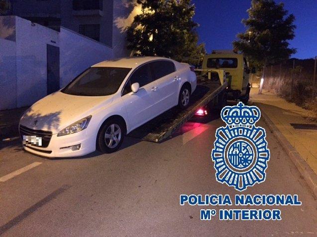 Foto: Siete detenidos en Algeciras por tráfico ilícito de vehículos de alta gama (EUROPA PRESS/POLICÍA NACIONAL)