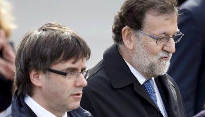 Rajoy trasllada a Sánchez, Rivera i Iglesias els plans per frenar el procés sobiranista