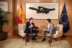 Rajoy i Rivera es reuniran dimecres que ve al Congrés (EUROPA PRESS)