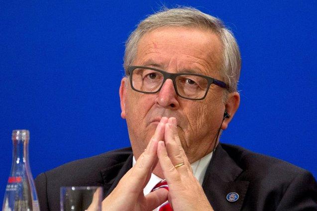 Foto: Juncker aplaza la decisión sobre la cartera que dará al nuevo comisario británico (POOL NEW/REUTERS)