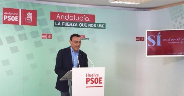 """Foto: El PSOE de Huelva lamenta la """"persecución"""" contra De Paz tras el archivo de su causa (EUROPA PRESS/PSOE)"""