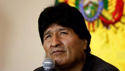 "Evo Morales acusa a Estados Unidos de seguir ""conspirando"" contra Bolivia"
