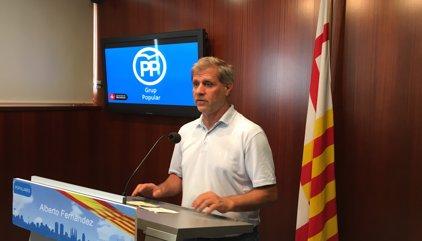 """El PP demana a Colau que no posi Barcelona """"al servei de l'independentisme"""""""