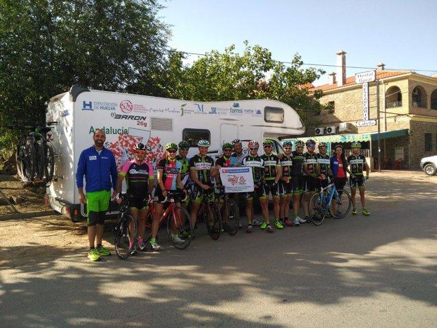Foto: 'Andalucía 7 Desafíos acaba este sábado en Punta Umbría (Huelva) su recorrido solidario (EUROPA PRESS/DIPUTACIÓN DE HUELVA)