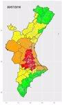 Foto: Alerta roja por calor en Alzira, Xàtiva, Ontinyent y Cocentaina