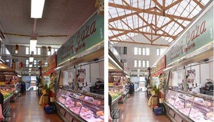 Barcelona inverteix un milió d'euros en la millora de tres mercats municipals