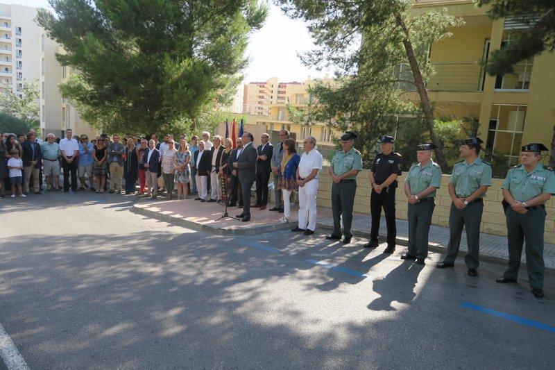 Palmanova recuerda a Diego Salvá y Carlos Sáenz de Tejada, víctimas de ETA