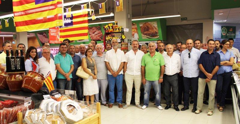 Eroski alcanzó los 77 millones de euros en venta de producto local balear en 2015