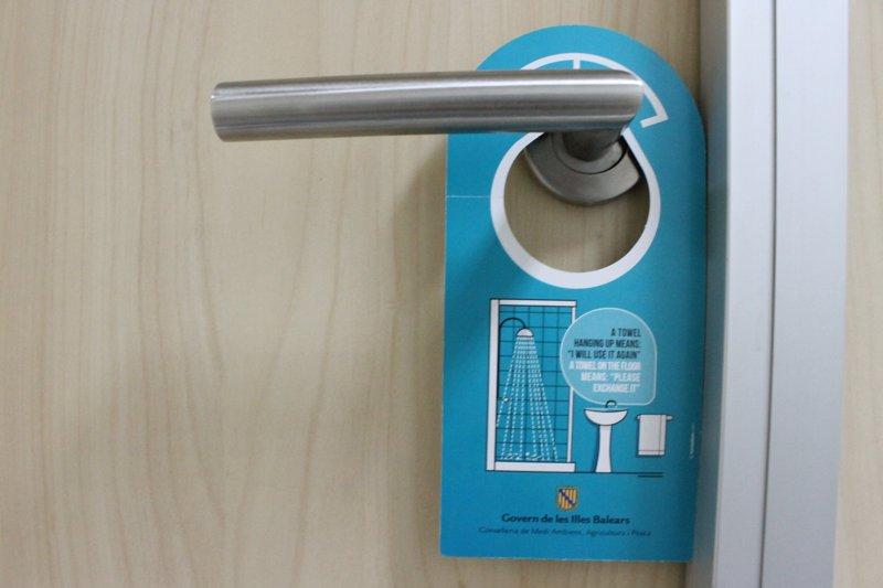 Amplían la campaña de concienciación sobre el ahorro de agua a los establecimientos hoteleros