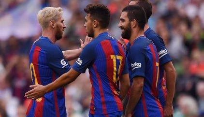 El Barcelona, buen estreno con victoria ante el Celtic
