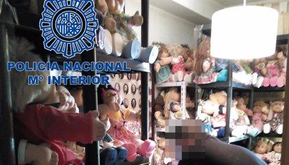 Detenido en Sevilla tras recibir en su móvil el vídeo porno de una menor