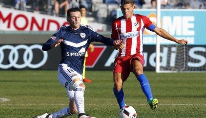 El Atlético se despide de Australia con derrota