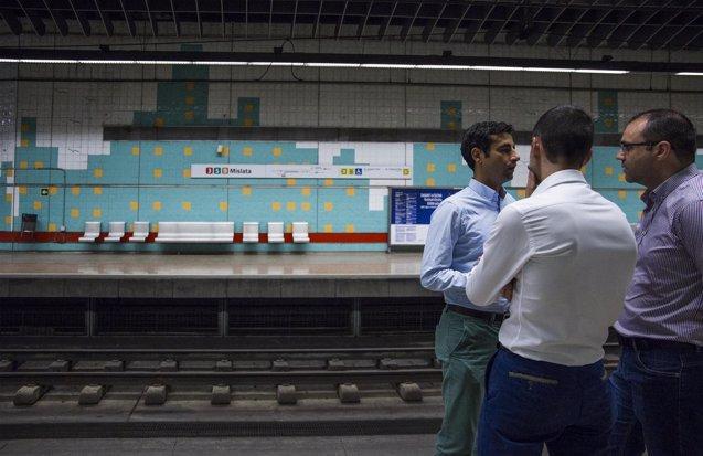 Foto: Metrovalencia instalará en 2017 plataformas accesibles para personas con discapacidad en diez estaciones (GVA)