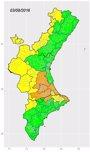 Foto: Sanidad activa el nivel alto por calor en La Costera, La Ribera Alta y la Vall d'Albaida