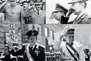 La larga lista de dictadores iberoamericanos de los últimos 50 años