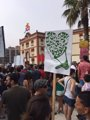 Foto: Antitaurinos se manifiestan contra las corridas de la Feria de Begoña