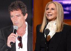 Antonio Banderas y Barbara Streisand unen sus voces en un impresionante dúo