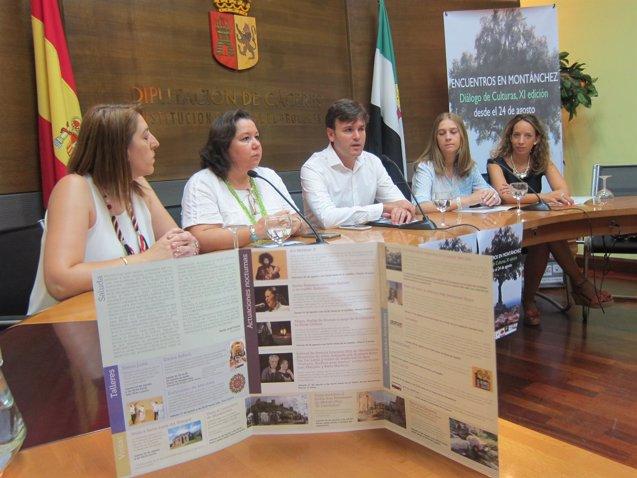 Foto: Ara Malikian y Celia Romero, entre las propuestas de los XI Encuentros en Montánchez (Cáceres) (EUROPA PRESS)