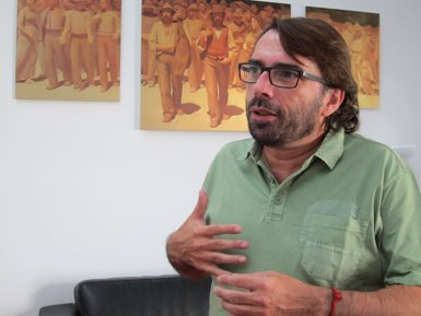 Camil Ros (UGT) rebutja el RUI perquè votarien només els favorables a la independència (EUROPA PRESS)
