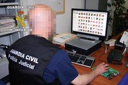 24 detinguts a Espanya per distribuir arxius pedòfils en una operació internacional (EUROPA PRESS)