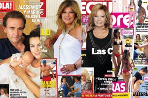 El topless de Sandra Barneda, la hija de Alessandro Lequio y el juicio a 'Las Campos'