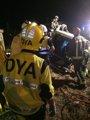 Foto: Un muerto y un herido al volcar su coche en Guriezo