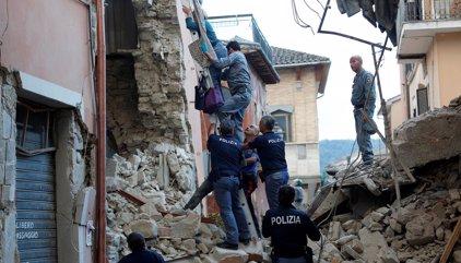 Los estragos del terremoto de Italia en imágenes