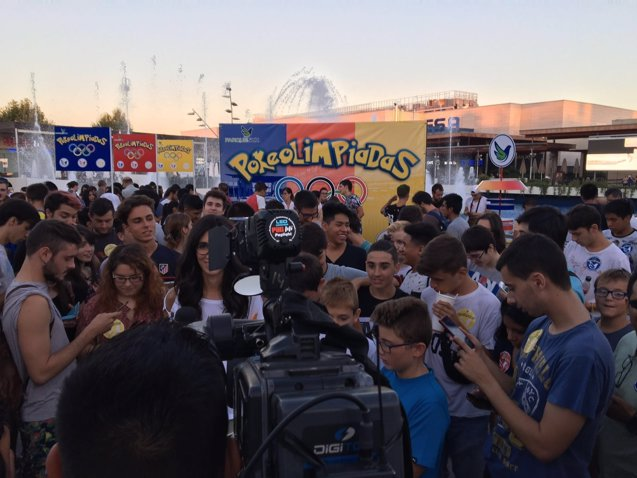 Foto: COMUNICADO: Cerca de 1.000 fans de Pokémon Go se citan en Parquesur para coronarse como mejor entrenador (POKEOLIMPIADAS EN PARQUESUR)