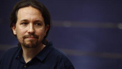 """Pablo Iglesias considera una """"mala notícia"""" que Otegi no pugui concórrer a les eleccions basques"""