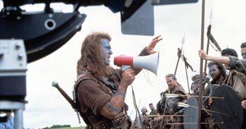 """La gran lección que Mel Gibson aprendió con Braveheart: """"Nunca trabajes..."""