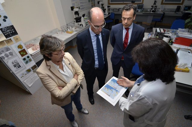 Foto: Sanidade y Mar promueven un protocolo de colaboración para el control de las biotoxinas en los bibalvos (XUNTA/FRAN BREA)