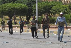 Els rebels sirians es fan amb el control de Jarabulus amb el suport de les forces turques (REUTERS)