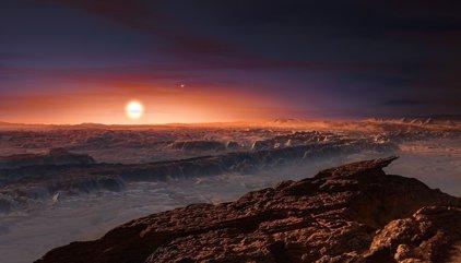 Un planeta rocoso orbita la estrella más próxima a nuestro sistema