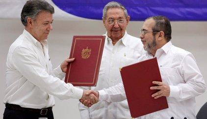 El apoyo internacional al proceso de paz colombiano
