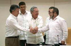 El Govern celebra l'acord de pau entre Colòmbia i les FARC (COLPRENSA)