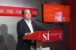 Agrupacions i dirigents del PSC esmenaran la 'via canadenca' d'Iceta en el seu congrés (EUROPA PRESS)