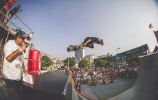 Badalona acull un altre cop el festival Skate Love dedicat als patinadors i a la música (O'MARISQUIÑO)