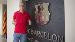 El FC Barcelona fitxa el porter Cillessen per 13 milions i per a cinc temporades (VÍCTOR SALGADO / FCB)