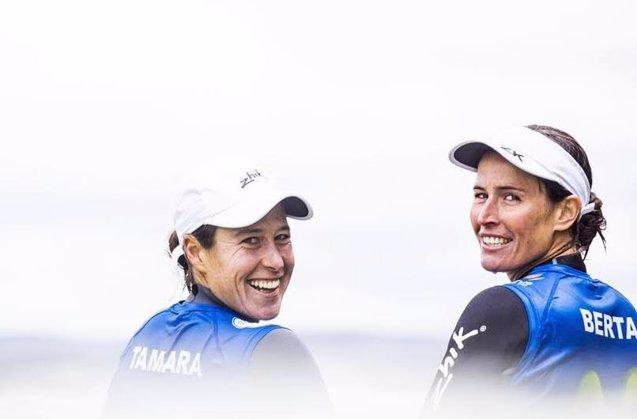 Foto: Echegochen y Betanzos recibirán el Premio Nacional de Vela Terras Gauda al mejor equipo de regatas femenino  (VELA )