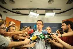 Errejón respecta les víctimes del terrorisme però diu que han de ser els bascos els que decideixin sobre Otegi (EUROPA PRESS)