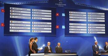 El sorteo depara grupos exigentes para Madrid, Atlético, FC Barcelona y...