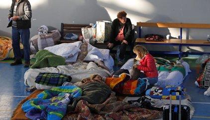 Solicitantes de asilo y refugiados ayudan a las víctimas del terremoto en Italia