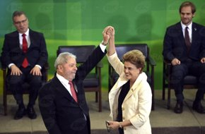 """Foto: Lula habla de """"semana de la vergüenza nacional"""" tras inicio del juicio político a Rousseff (AGENCIA BRASIL)"""