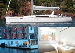 Ocho increíbles casas barco para alquilar en unas vacaciones únicas