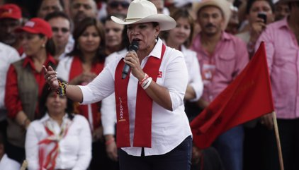 Xiomara Castro volverá a ser la candidata de LIBRE a la Presidencia de Honduras