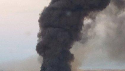 Activado el PLATECAM por un incendio en una planta de reciclaje de Chiloeches