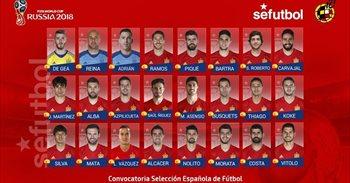 Lopetegui prescinde de Casillas en su primera lista