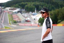 El nou motor d'Alonso es trenca a Spa-Francorchamps (MCLAREN)